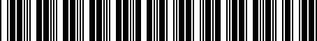 Barcode for 000061125A